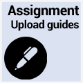 Student assignment submission guidance - eStudy or Turnitin assignments